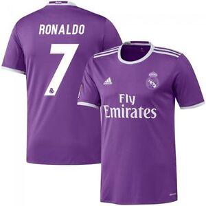 7eeed497f79 adidas Real Madrid 2016 - 2017 C. Ronaldo #7 Away Soccer Jersey CR7 ...