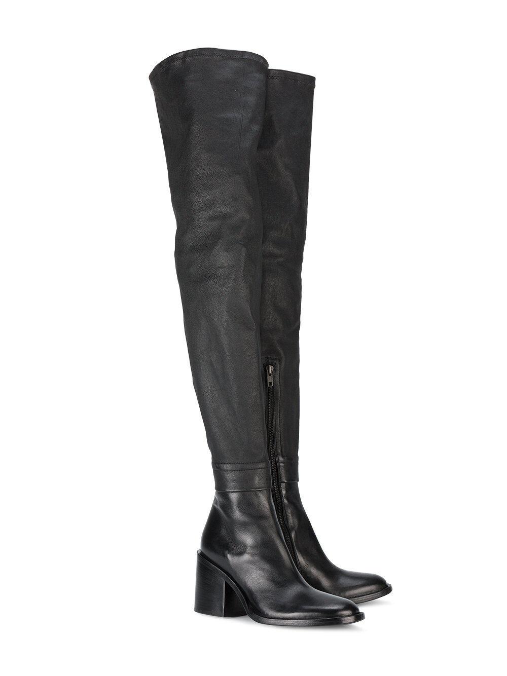 2018 Schuhe Stiefel Damen 30-45 Abend Overknee Stiefel Schuhe Stilefeletten Kunstleder 5bd21d
