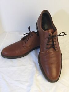 Salvatore-Ferragamo-Brown-Pebbled-Leather-Oxfords-11-5B