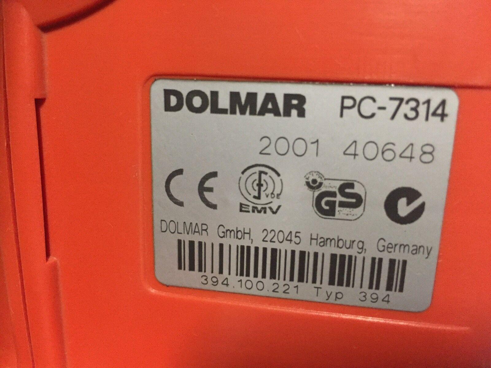 394228061 Disc DOLMAR Makita Pressure disc Genuine Power Cut PC6412 14 7312