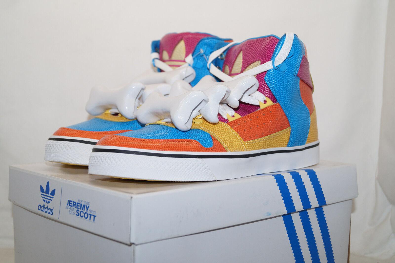 Adidas Originals Jeremy Scott JS Bones Multicolore d65207 UE 40.6 UK 7 d65207 Multicolore 9c77a6