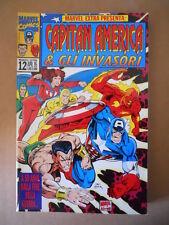 CAPITAN AMERICA & GLI INVASORI - Marvel Extra n°12 1995 Marvel Italia  [G693]