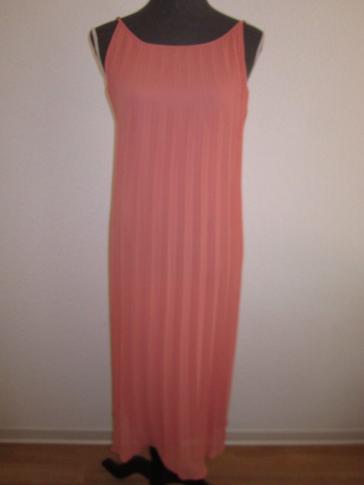 Neues BCBG Generation Kleid Gr.M Lachsfarbe mit Plise UVP  NEU OVP