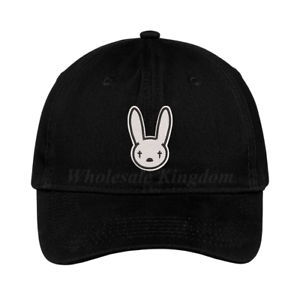 Bad Bunny Logo Hat Music Hip Hop Rapper Trap Baseball Dad Cap Gift
