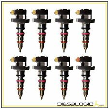 """1999-2003 Ford 7.3 Powerstroke 7.3 (7 - """"AD"""" & 1 - """"AE"""") Heui Injector Set(8)"""