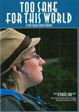 DVD: Too Sane for This World, william davenport. Good Cond.: Dr. Temple Grandin