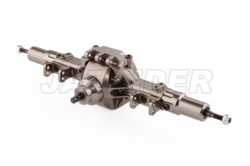 Jazrider Alu Complete Assembled Rear Axle Set For Axial SCX10 Honcho Jeep Dingo