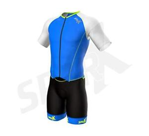 Sparx Men`s Elite Aerosuit Triathlon Suit with Sleeves Mens Short Sleeve