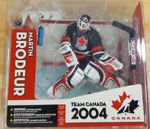 ec011b4d1 Image is loading McFarlane-NHL-Team-Canada-2004-Martin-Brodeur-Action-