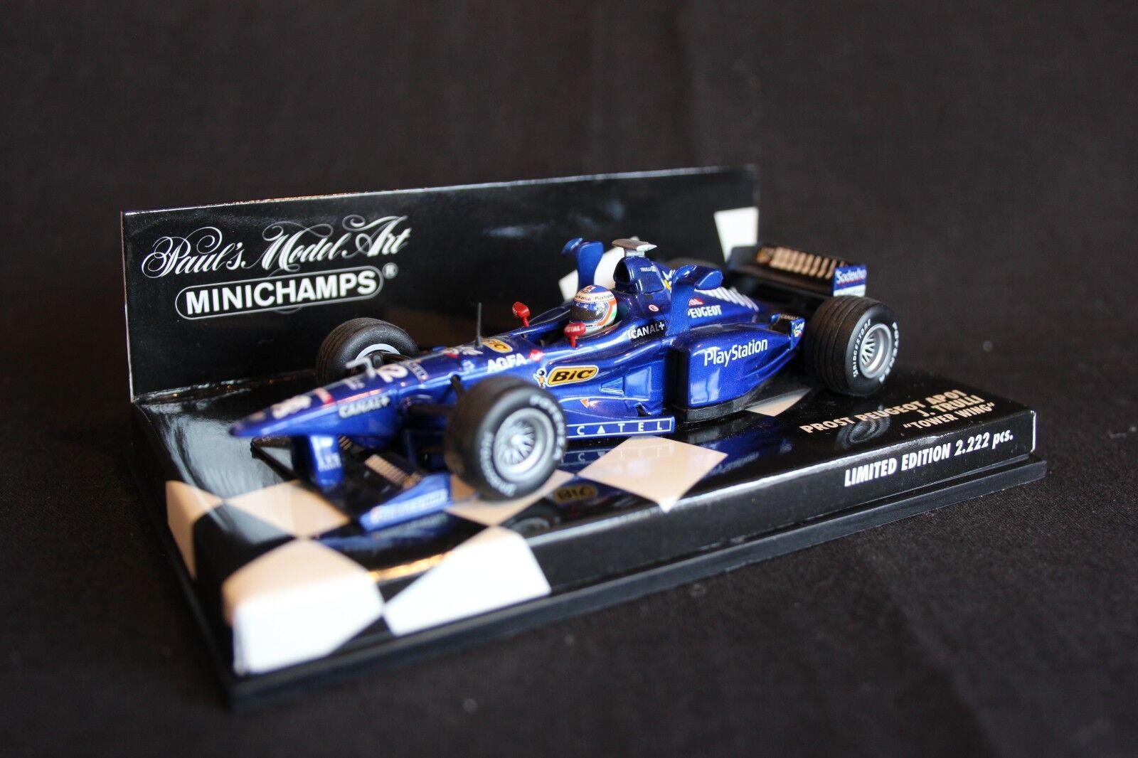 Minichamps Prost Peugeot AP01 1998 1:43 #12 Jarno Trulli (ITA)