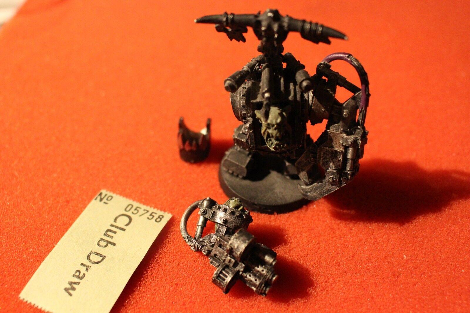 Games Workshop Warhammer 40k Ghazghkull Thraka Orks Warboss Metal Figure OOP GW