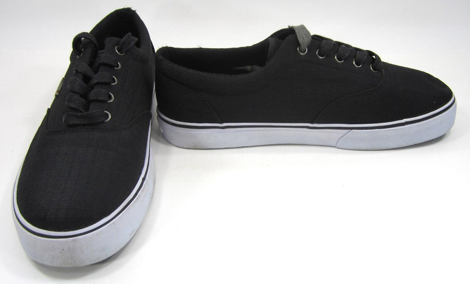 Lugz stivali nero / bianco / carbone veterinario ripstop scarpe taglia 9