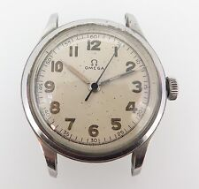 .Vintage 1944 Omega 30T2 SC Steel Mens Watch 2179/2 U.S Army