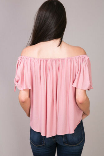 leven Rose Off Sangria Shoulder Top blauw wn4pz7q