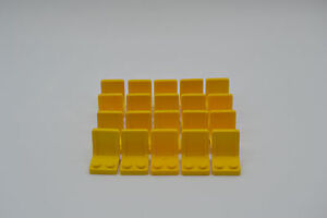 LEGO 20 X Sièges Siège 2x2 Jaune Yellow chair seat 4079 407924  </span>