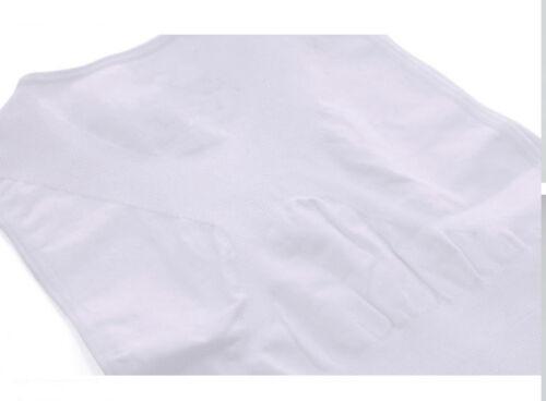 Men/'s Posture Corrector Belly Tummy Control Back Support Vest Chest Shaper Tank