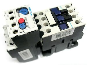 New IEC Motor Starter 24VAC Coil 3 Pole w/ 1 NO Aux Contact 1.6-2.5 Amp Overload