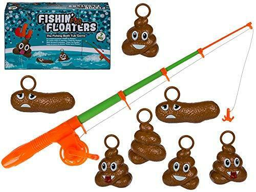 FISHIN FOR FLOATERS POOP FISHING BATH TIME FUN GAME