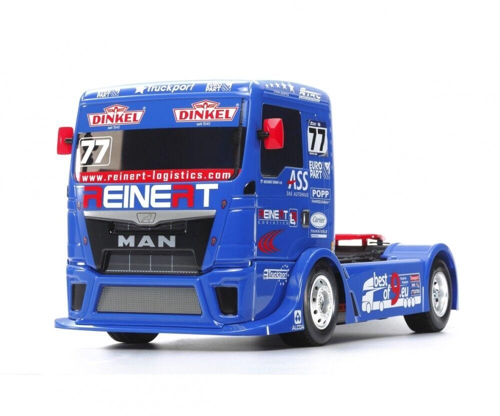TAMIYA 300058642 - 1 14 RC Team Reinert RAC. MAN TGS tt-01e - NUOVO