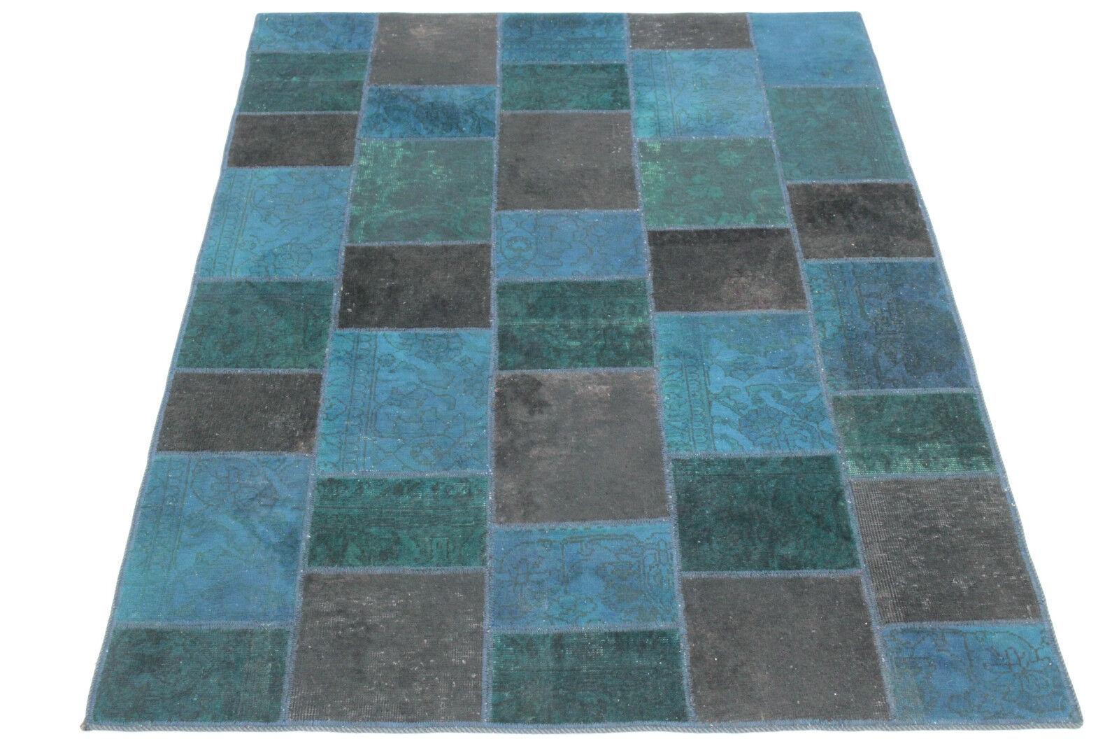 Tappeto Moderno Turchese : Patchwork tappeto orientale orientale orientale vintage blu