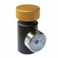 Co2 Asa Adapter Fill Station Remote On/off With Gauge