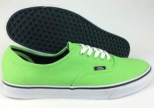VANS-AUTHENTIC-Kids-GREEN-Canvas-Casual-Shoes-KIDS-US-12-5-13-13-5-1-5-2-5-3