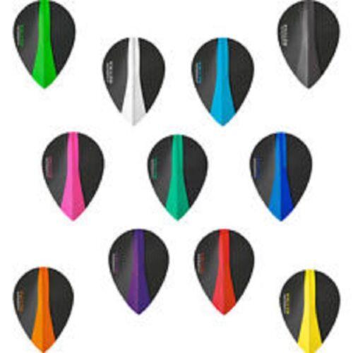 100 microns Harrows Retina Blue Pear Shape Flights