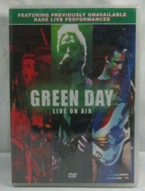 Green Day Live On Air Punk Music DVD New Sealed Free 1st Class Post