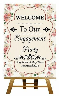 Wedding Sign Poster Print Lilac Shabby Chic Welcome To Our Wedding