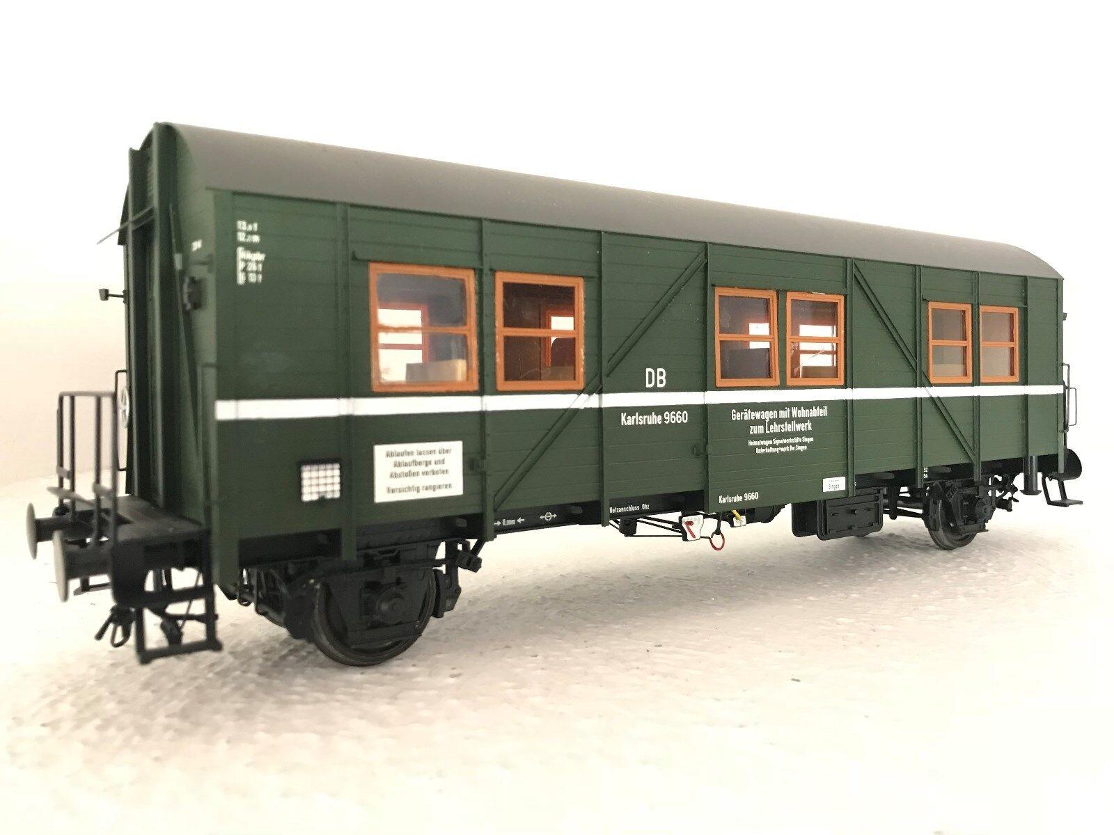 Dingler Traccia 1 Mci 43 I-117/4 Vagone di Costruzione Verde Db 9609