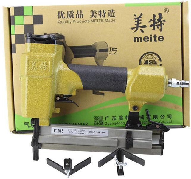 PICTURE FRAME JOINER V-NAILER JOINING GUN 7mm to 15mm Long 10.3mm Diameter New