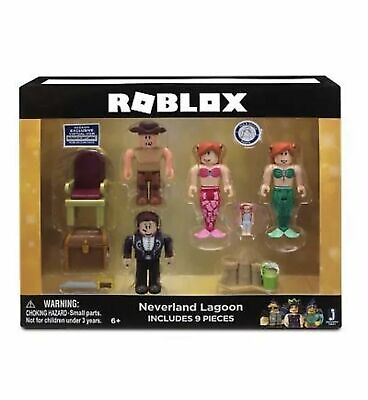 Roblox Neverland Lagoon 9 Piece Set Mix and Match Action Figures New Sealed
