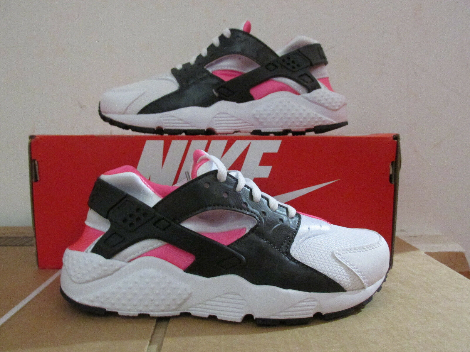 Nike Huarache Run Sneakers GS Trainers 654280 104 Sneakers Run Schuhes CLEARANCE 2a97c0