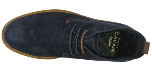 CAVANI Desert boots homme en Daim Cheville Cuir 3 Eye mousse à mémoire de forme confort UK 7-12