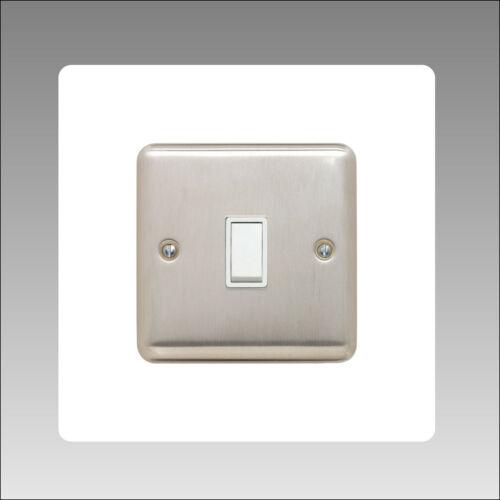 Interrupteur de lumière Surround 3 mm Unique Acrylique Clair De Doigt Plug Socket