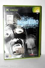 PROJECT ZERO GIOCO USATO BUONO STATO MICROSOFT XBOX EDIZIONE ITALIANA FR1 32523