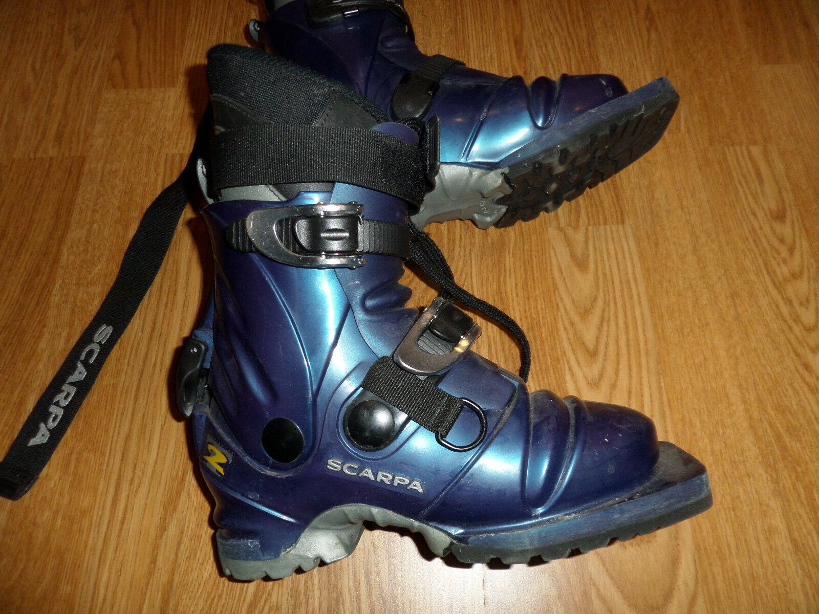 SCARPA T2 TELEMARK 3 PIN CROSS COUNTRY SKI BOOTS WOMEN'S  4.5 MONDO 22.0  cheap sale outlet online