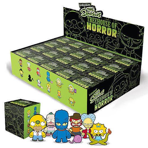 Kidrobot x Simpsons Treehouse of Horrors THOH - KODOS KODOS KODOS - 3  Vinyl Figure 4505ed