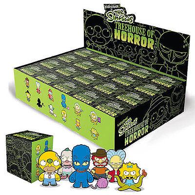 """Umoristico Kidrobot X Simpsons Treehouse Degli Orrori Thoh-kodos Figura In Vinile - 3""""-mostra Il Titolo Originale"""