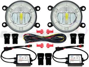 Ford-Focus-LED-DRL-Front-Fog-Light-Kit-2004-2016-MK2-MK2-5-MK3-ST-RS-C-Max