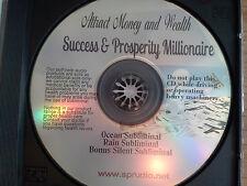 Attract Money Success Prosperity Millionaire Subliminal CD Brainwaves, NLP Ocean