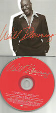 WILL DOWNING All about you w/ RARE RADIO version PROMO DJ CD single 1997 USA