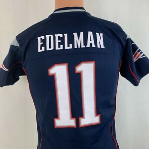 Nike Julian Edelman New England Patriots Game Jersey NFL Football ...