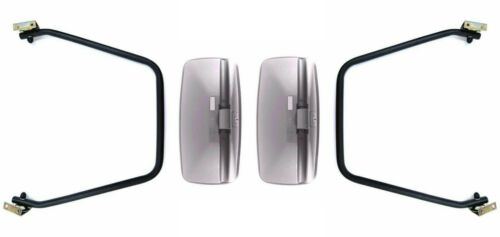 2x Außenspiegel Rückspiegel  390x195 LKW Bus Bagger Spiegelarm Spiegelhalter SET