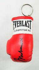 Autografiado Mini Guante De Boxeo llavero Muhammad Ali