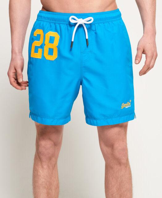 99f18b9d1b Mens Medium Superdry Ocean Blue Swim Shorts for sale online   eBay