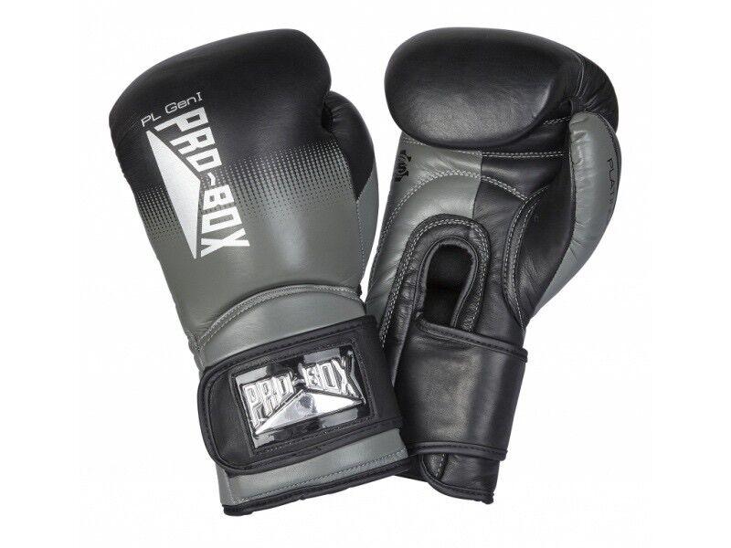 Pro Box Boxhandschuhe Signature-Serie Klettverschluss 10oz 12oz 14oz 16oz