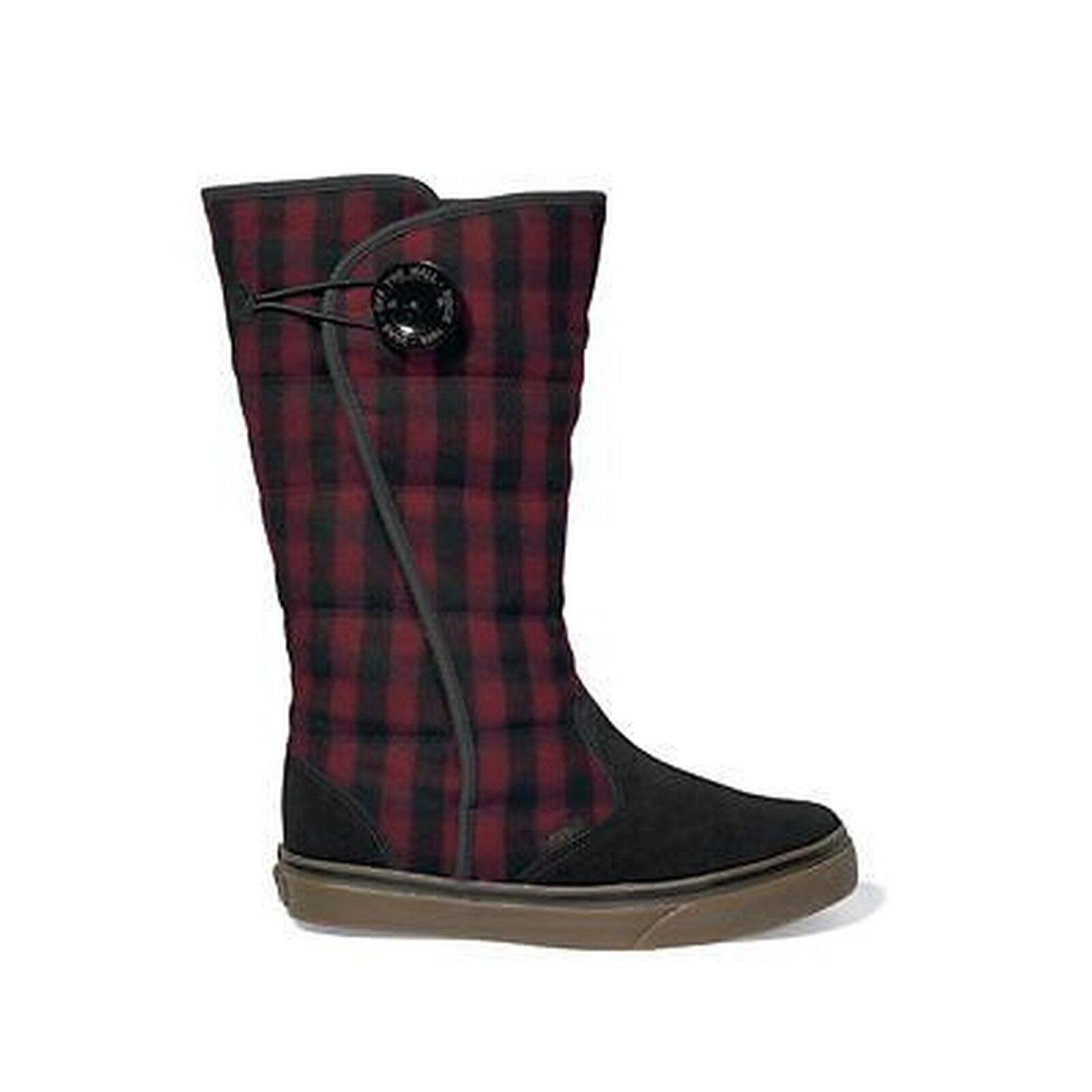 Miglior prezzo Vans Vans Vans Scarpe da Donna Stivali Phoebe scarpe ROSSO NERO  acquisti online