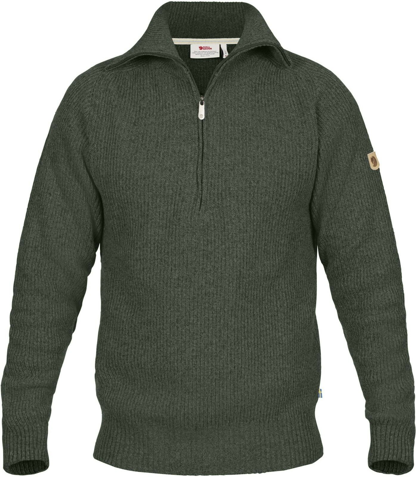 Fjäll Räven Greenland Re-Wool Sweater M 81863 Gr. M Deep Forest