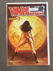 VAMPIRELLA-1-VARIANT-ALEX-ROSS-NM-RARE-DYNAMITE-2010-VOL-5-QUEEN-CHAOS